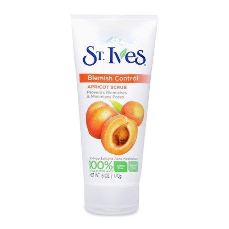 Sữa Rửa Mặt Ngăn Ngừa Mụn ST.IVES Chiết Xuất Trái Mơ 170g