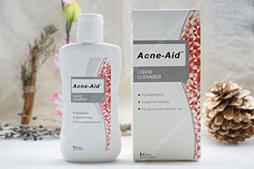 Sửa Rửa Mặt Làm Sạch Da Và Ngừa Mụn GSK Acne-Aid Liquid Cleanser 100ml