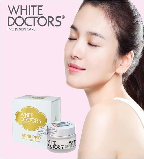 Kem Giảm Mụn, Thâm Mụn, Sẹo Mụn White Doctors Acne Pro