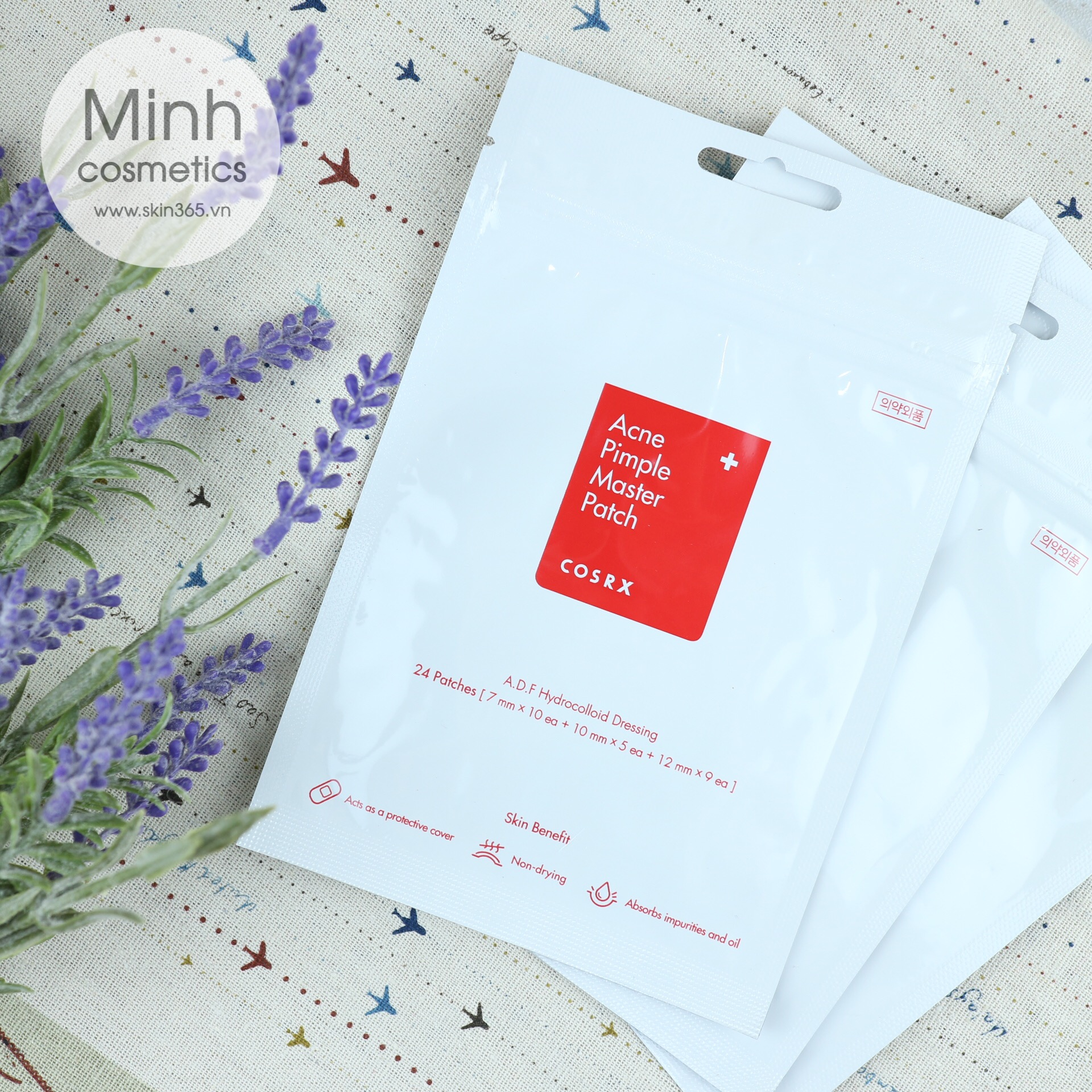 Miếng Dán Mụn COSRX Acne Pimple Master Patch (24 miếng)