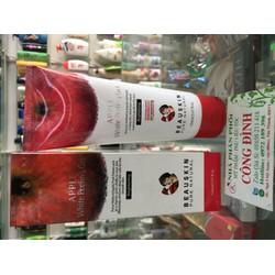 Tẩy tế bào chết da mặt sạch nhờn trị mụn ngăn lão hóa tránh bắt nắng dạng Gel Beauskin Apple White Peeling Gel, Hàn Quốc 150 ml