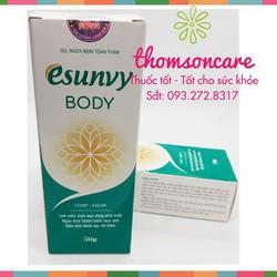 Kem ngừa mụn toàn thân Esunvy Body | Trị mụn Ngừa thâm | Chống sẹo