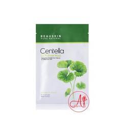 Mặt nạ dưỡng da ngừa mụn trị nám nhanh lành sẹo ngăn lão hóa thêm hồng hào Beauskin Centella CICA Sheet Mask,