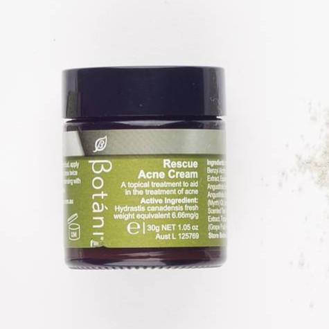 Kem Giảm Mụn Hữu Cơ Botani Rescue Acne Cream BPSS022 (30g)